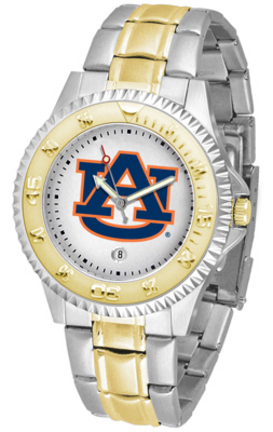 Auburn Tigers Competitor Two Tone Watch