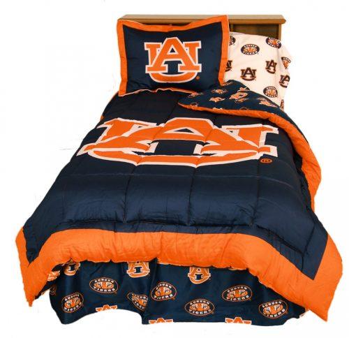Auburn Tigers Reversible Comforter Set (King)