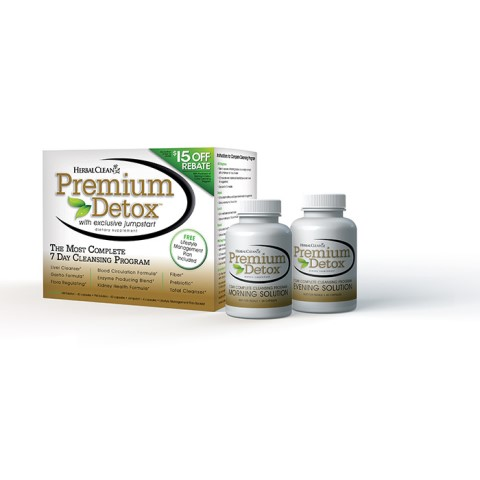 B.N.G. Herbal Clean 1106160 Herbal Clean Premium Detox 7 Day Kit - 1 Kit