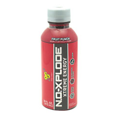 BSN 2760225 16 oz. No-Xplode Rtd 12 Bottles Fruit Punch