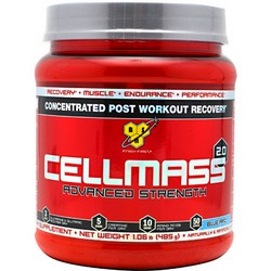 BSN Cell Mass 2.0 Blue Raspberry 50 svg - BSNICE2V50SVBLRAPW