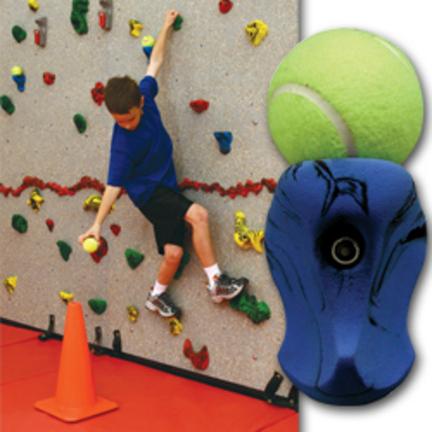 Ball Holder Rock Climbing Wall Hand Holds (Set of 10)