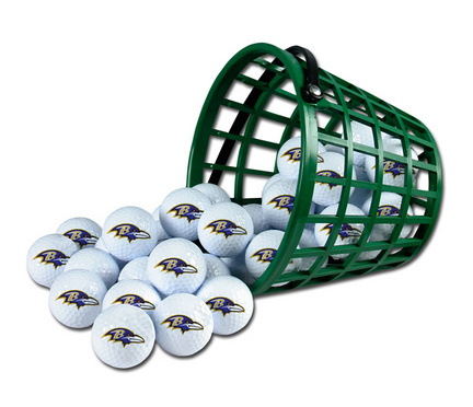 Baltimore Ravens Golf Ball Bucket (36 Balls)