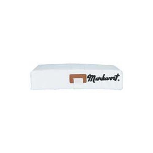 Baseball Bases with Embroidered Logo from Markwort - (Set of 3)