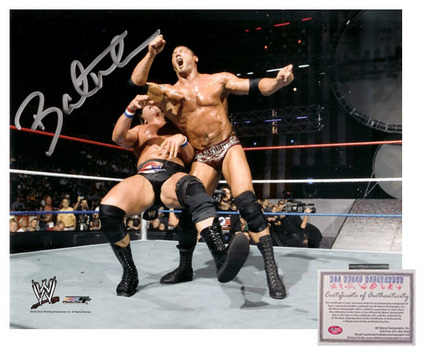 "Batista Autographed ""In Action"" 16"" x 20"" Photograph (Unframed)"
