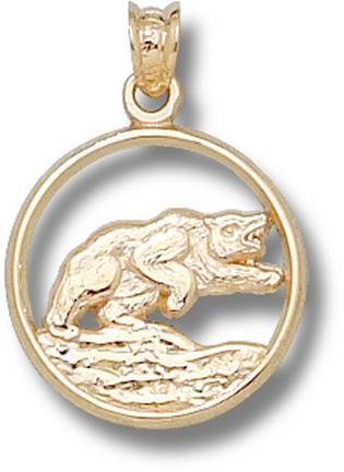 "Baylor Bears ""Bear"" Pendant - 10KT Gold Jewelry"