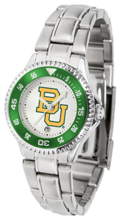 Baylor Bears Competitor Ladies Watch with Steel Band