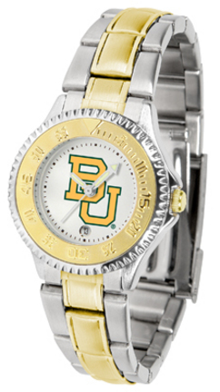 Baylor Bears Competitor Ladies Watch with Two-Tone Band