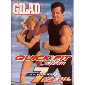 Bayview BAY3852 Gilad- Quick Fit System - 7 Fat Burning Body Sculpting Workouts