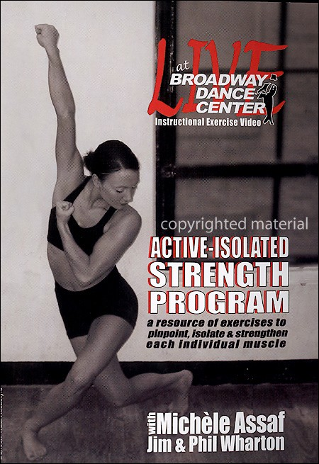 Bayview BAY665 Live At The Broadway Dance Center- Active-Isolated Strength Program