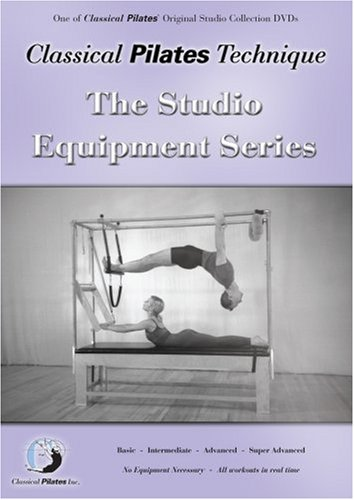 Bayview GUPCP-SESDVD Classical Pilates Technique- Studio Equipment Series