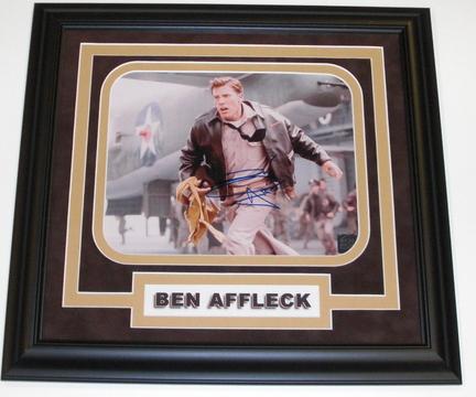 "Ben Affleck Autographed 8"" x 10"" Custom Framed Photograph"