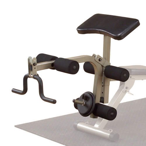 Best Fitness Optional Leg Developer / Preacher Curl