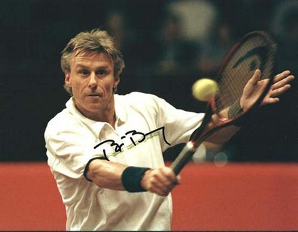 "Bjorn Borg Autographed Tennis 8"" x 10"" Photograph (Unframed)"