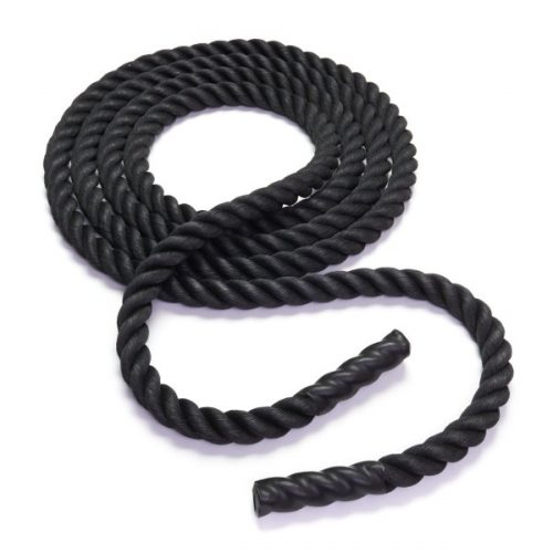 Black Mountain Products Battle Rope 2 in X 20ft 20 ft. Exercise Agility Battle Rope