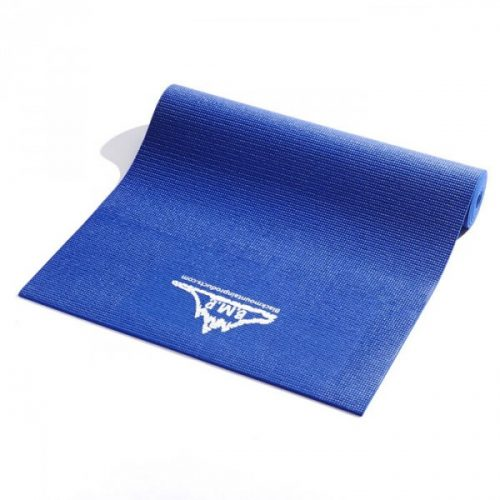 Black Mountain Products Blue Yoga Mat Eco Friendly Yoga Exercise Mat Blue
