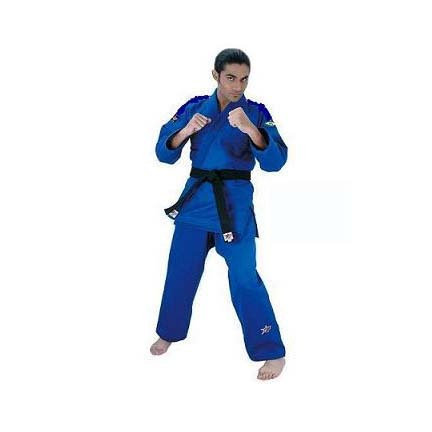 Blue Pro-Shima Jujitsu Uniform (Size 4) from Starpak