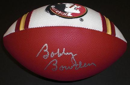 Bobby Bowden Autographed FSU Seminoles Jersey Football