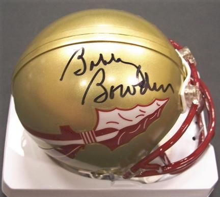 Bobby Bowden Autographed Florida State Seminoles Riddell Mini Football Helmet