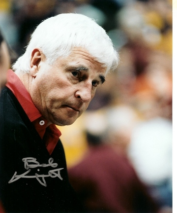 "Bobby Knight Autographed ""Coaching in Action"" 8"" x 10"" Photograph (Unframed)"