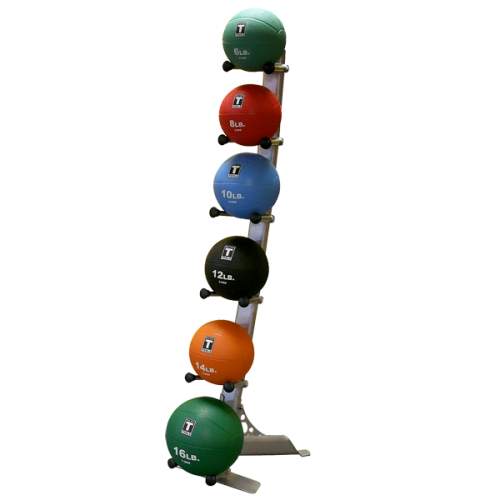 Body Solid GMR10 6 Medicine Ball Rack