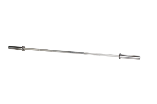 Body Solid OB72A15 6 ft. Olympic Aluminum Training Bar with 28 mm Grip 15 lbs