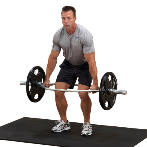 Body Solid OTB50 Olympic Shrug Bar