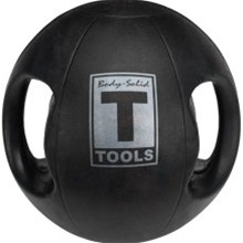 Body Solid Tools BSTDMB14 Dual Grip Medicine Ball 14 lbs.