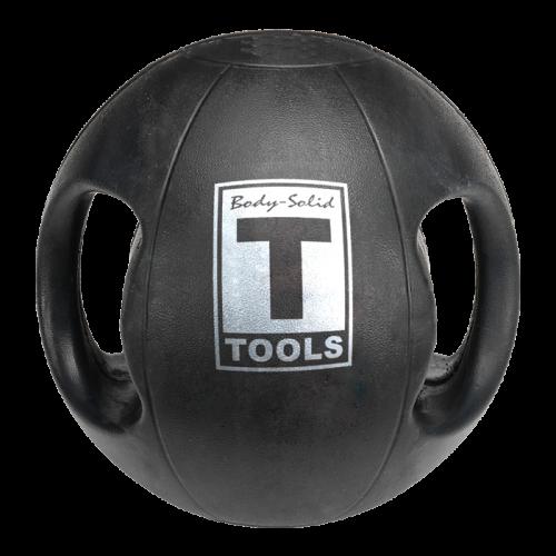 Body Solid Tools BSTDMB18 Dual Grip Medicine Ball 18 lbs.
