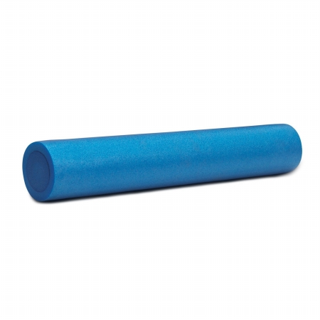 Body Solid Tools BSTFR36F 36 in. Foam Roller Blue - Half