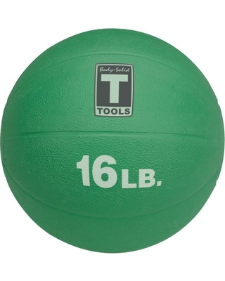 Body Solid Tools BSTMB16 16 lbs. Green Medicine Ball