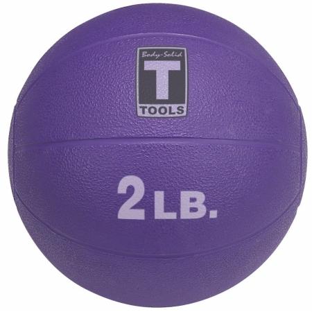 Body Solid Tools BSTMB2 2 lbs. Purple Medicine Ball
