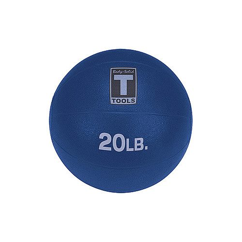 Body Solid Tools BSTMB20 20 lbs. Dark Blue Medicine Ball