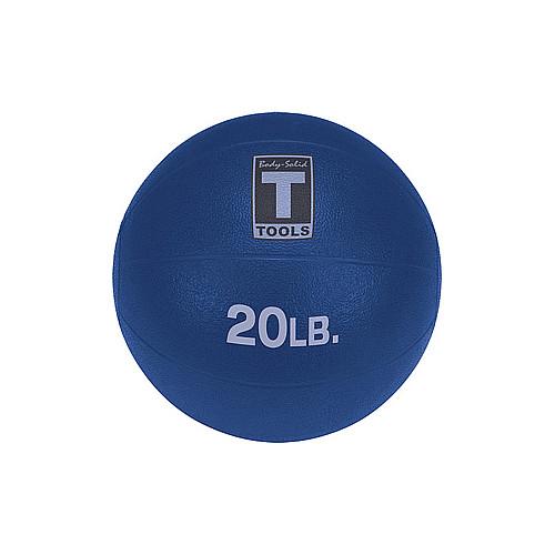 Body Solid Tools BSTMB20 20 lbs. Dark Blue Medicine Ball
