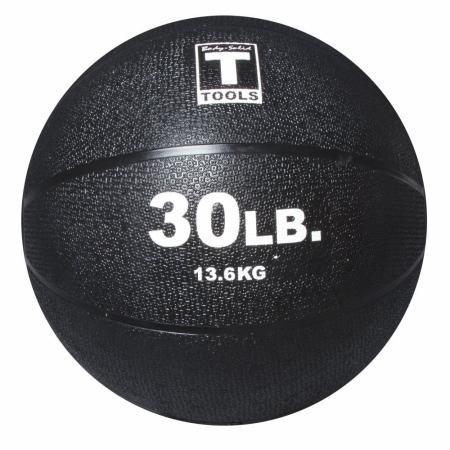 Body Solid Tools BSTMB30 30 lbs. Black Medicine Ball