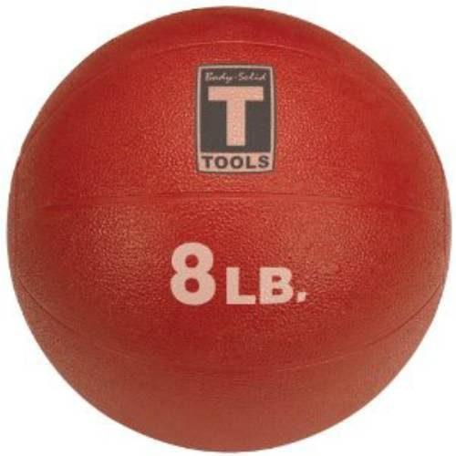 Body Solid Tools BSTMB8 8 lbs. Red Medicine Ball