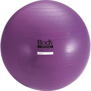 Body Sport BDSBULK45CM 45 cm Studio Series Fitness Ball Purple Bulk