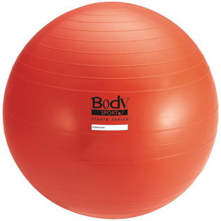 Body Sport BDSBULK75CM 75 cm Studio Series Fitness Ball Red Bulk