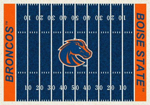 "Boise State Broncos 3' 10"" x 5' 4"" Home Field Area Rug"