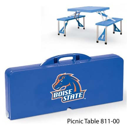 Boise State Broncos Portable Folding Table and Seats