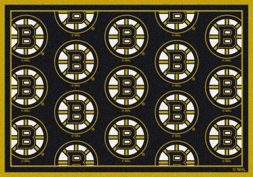 "Boston Bruins 2' 1"" x 7' 8"" Team Repeat Area Rug Runner"