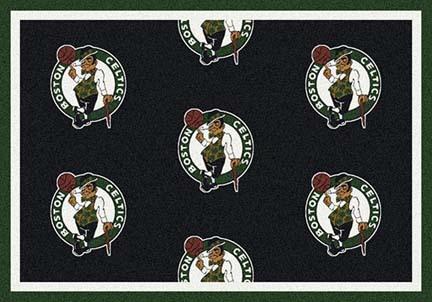 "Boston Celtics 2' 1"" x 7' 8"" Team Repeat Area Rug Runner"