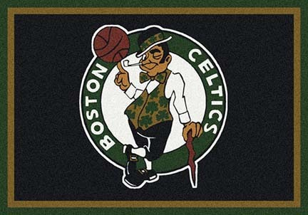 "Boston Celtics 3' 10"" x 5' 4"" Team Spirit Area Rug"