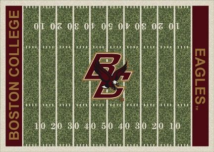 "Boston College Eagles 3' 10"" x 5' 4"" Home Field Area Rug"