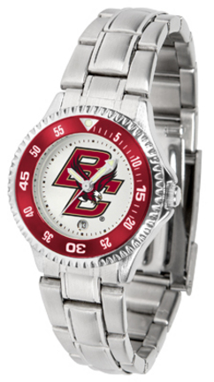 Boston College Eagles Competitor Ladies Watch with Steel Band