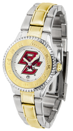 Boston College Eagles Competitor Ladies Watch with Two-Tone Band