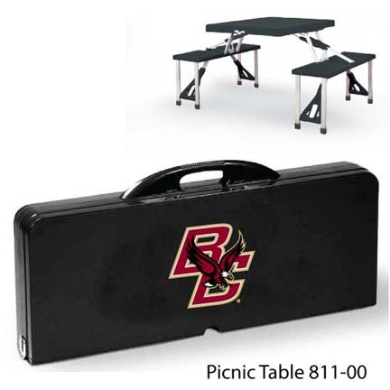 Boston College Eagles Portable Folding Table and Seats