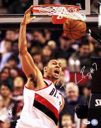 "Brandon Roy Portland Trailblazers NBA Autographed ""Dunking"" 16"" x 20"" Photograph"