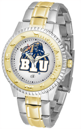 Brigham Young (BYU) Cougars Competitor Two Tone Watch