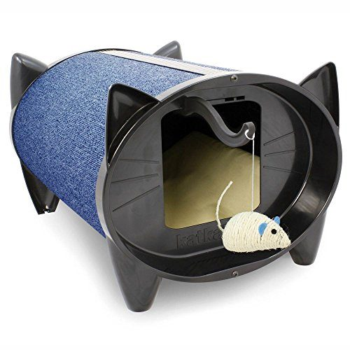 Brinsea Products SKZBL Indoor Cat House Cat Scratcher Blueberry